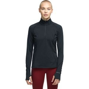 Midweight Meghan 1/2-Zip Top - Women's Black, XS - Good