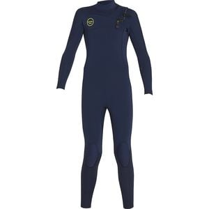 COMP X 4/3 Full Wetsuit - Kids' Ink Blue, 8 - Fair