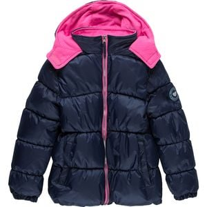 Mini Ripstop Puffer Jacket - Girls' Navy, 10/12 - Fair