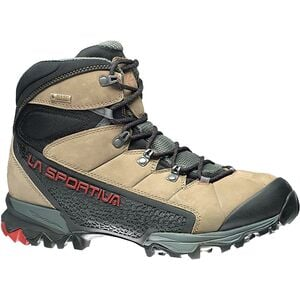 Nucleo High GTX Backpacking Boot - Women's Taupe/Berry, 39.5 - Excellent