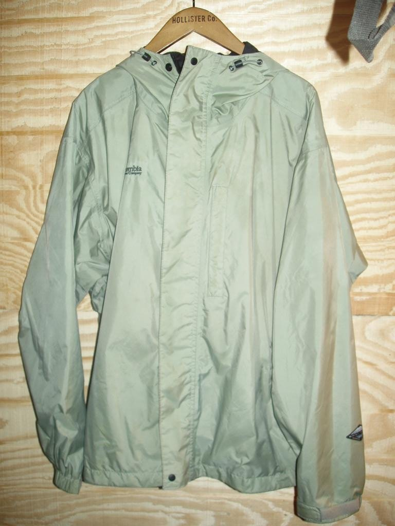 Columbia OMNI TECH XL Rain Jacket Perfect