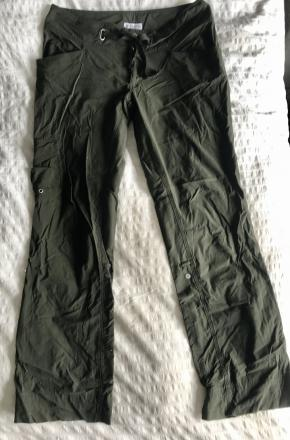 Women's Columbia Hiking Pants Size 10 Gree