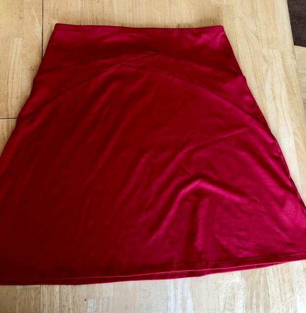 Patagonia A-line cotton skirt size Small