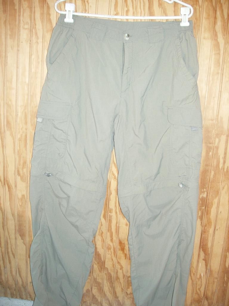 Columbia TITANIUM W Zip Off Legs Mens Medium