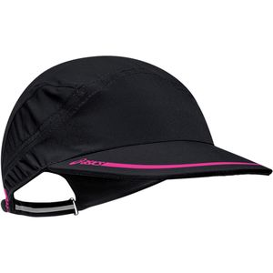 Speed Chill Running Cap Black Knockout Pink, One Size - Excellent