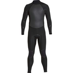3/2mm Furnace Absolute X Back Zip Full Wetsuit - Men's Black,XXL - Excellent