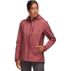 Uinta 3L Stretch Rain Jacket - Women's Rich Mauve, M - Good