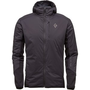 First Light Hybrid Hooded Jacket - Men's Smoke, L - Good