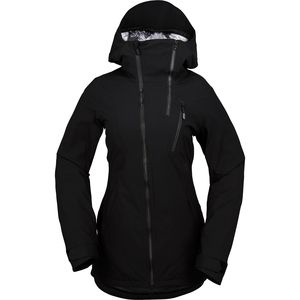 V Insulated Gore Hooded Stretch Jacket - Women's Black, XS - Excellent