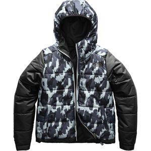 Perrito Reversible Hooded Jacket - Girls' Tnf Black, XL - Good
