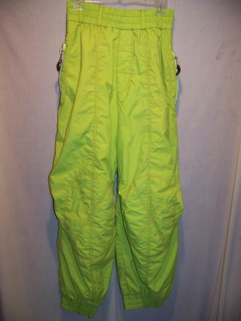 Vintage Seriously Ugly Ski Pants, Womens Small