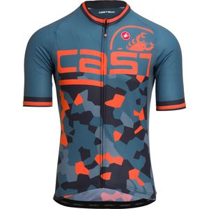 Attacco Limited Edition Jersey - Men's Light Steel Blue/Orange, L - Fair