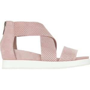 Cassie Sandal - Women's Light Pink Suede, 7.5 - Excellent