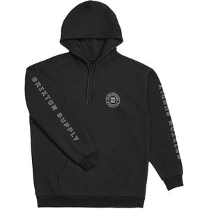 Oath IV Pullover Hoodie - Men's Black/White, M - Excellent