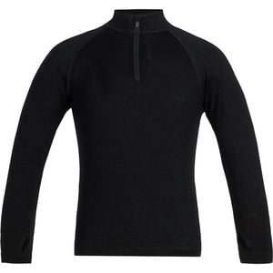 260 Tech Long-Sleeve Half-Zip Top - Boys' Black, 12 - Excellent