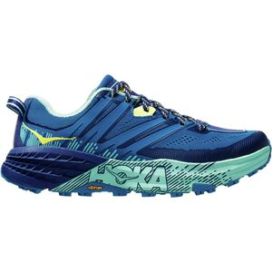 Speedgoat 3 Trail Running Shoe - Women's Seaport/Medieval Blue, 6.5 - Excellent