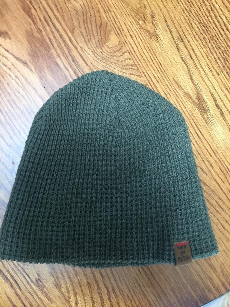 Iron & Resin Outsider Beanie - Forest