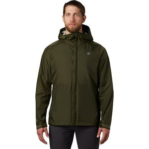 Acadia Jacket - Men's Dark Army, L - Excellent