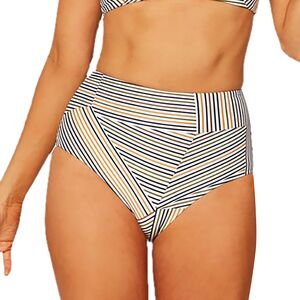 Portia Printed Bikini Bottom - Women's Get In Line, M - Excellent