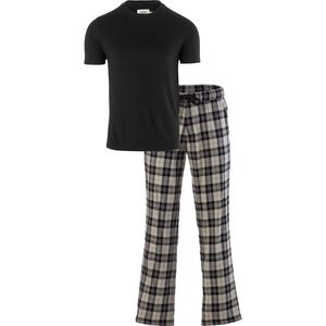 Grant Sleep Set - Men's Black/Plaid Navy, L - Excellent