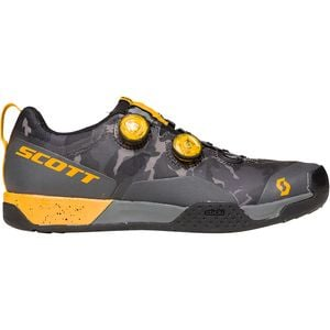 MTB AR Boa Clip Cycling Shoe - Men's Dark Grey/Tuned Orange, 48.0 - Good