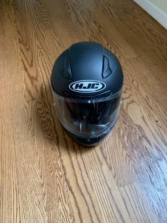 HJC motorcycle helmet, CL-17 matte black large