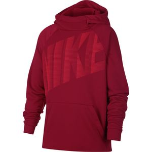 Dry Graphic Training Pullover Hoodie - Boys' Red Crush/Bright Crimson, XL - Like New