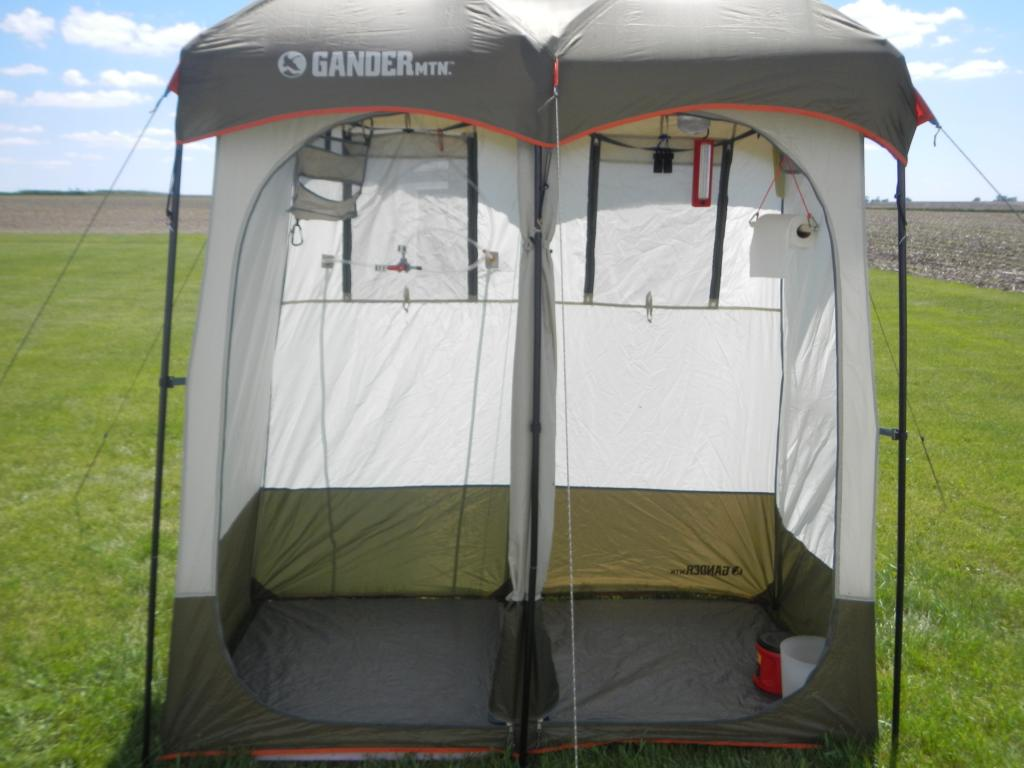 Photograph of & Gander Mountain - Double Shower Utility Tent