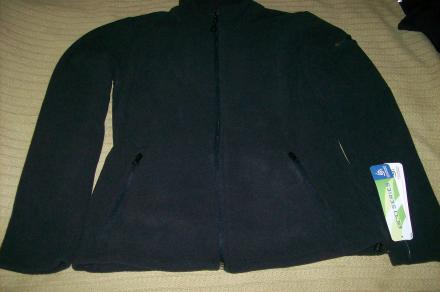 NWT Colorado Clothing ECO Polar Fleece, Black M