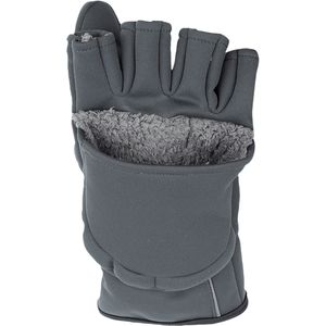 Guide Windbloc Foldover Mitt - Men's Raven, M - Excellent