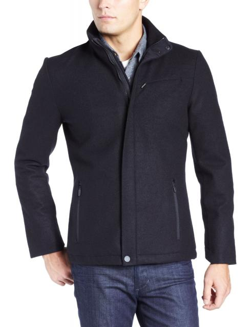 NEW with tags ICEBREAKER legacy coat, full zip Black wool, Men's Small