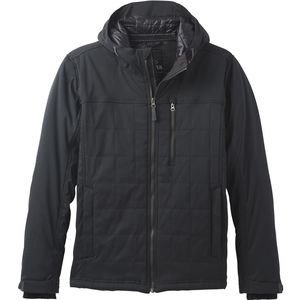 Zion Quilted Jacket - Men's Black,L - Excellent