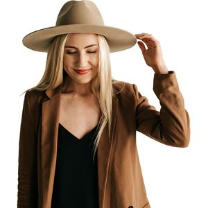 Emma Hat Tan, M/L - Excellent