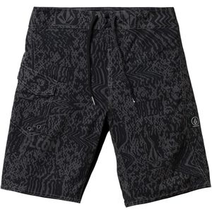 Logo Plasm Mod Board Short - Boys' Asphalt Black, 24 - Excellent
