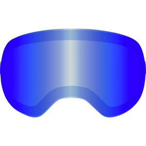 X2 Goggles Replacement Lens Lumalens Blue Ion, One Size - Excellent