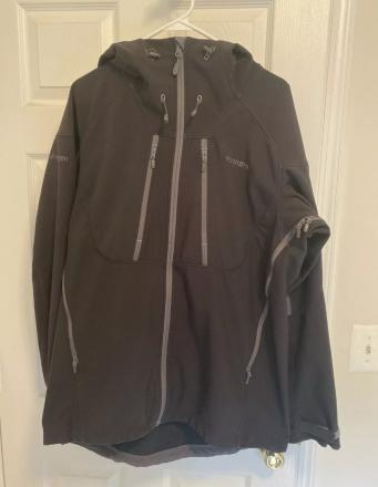 Men's Norrona Trollveggen Flex3 hooded soft shell jacket XL