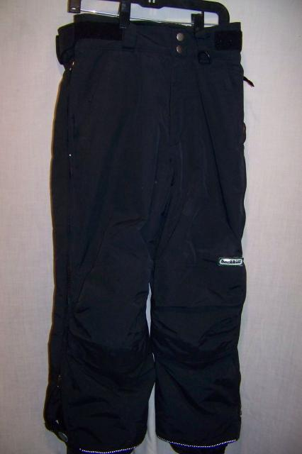 Backhill Insulated Waterproof Snowboard Ski Pants, Youth Medium 8-9