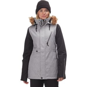 Fawn Insulated Jacket - Women's Heather Grey, L - Excellent