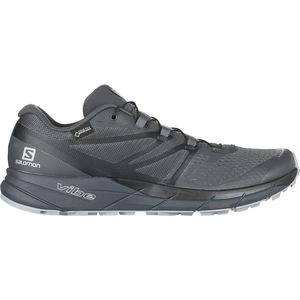 Sense Ride 2 GTX Invisible Fit Trail Running Shoe - Men's Ebony/Black/Quarry, US 11.0/UK 10.5 - Excellent