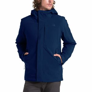 Carto Triclimate Hooded Jacket - Men's Flag Blue/Tnf Blue, L - Good