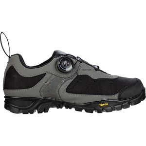 MX105 Mountain Bike Shoe - Men's Black/Grey, 41.0 - Excellent
