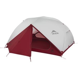 Elixir Tent: 3-Person 3 Season Red, One Size - Good