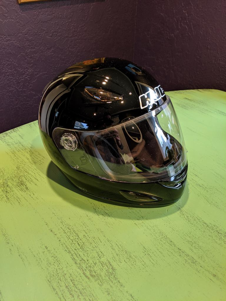 HJC Motorcycle Helmet (CS-Y)- Youth L/XL Full Face