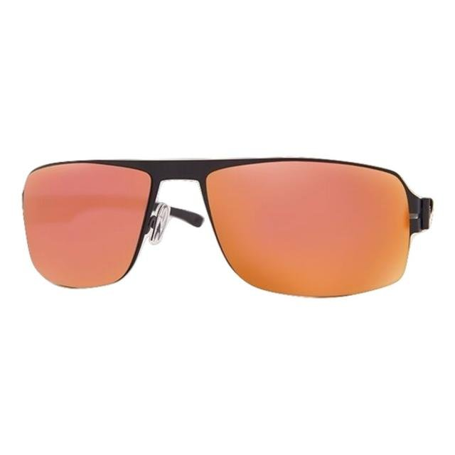 DCURVE Navigator Matte Black Stainless Steel Sunglasses