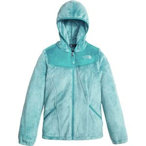 Oso Hooded Fleece Jacket - Girls' Nimbus Blue, L - Excellent