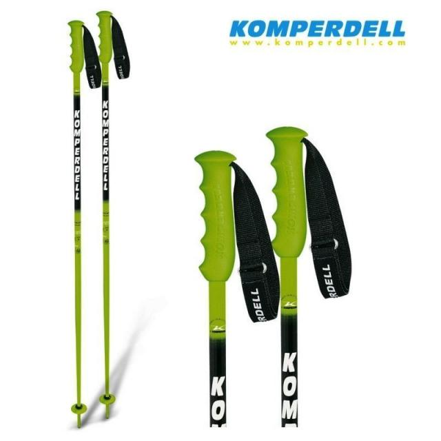 [NEW] Komperdell 125cm alpine SKI POLES National Team 18mm 49""