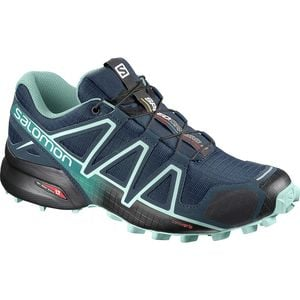 Speedcross 4 Wide Trail Running Shoe - Women's Poseidon/Eggshell Blue/Black, US 8.0/UK 6.5 - Good