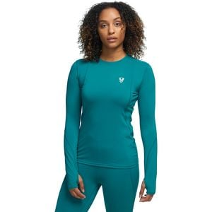 Midweight Crew Baselayer Top - Women's Deep Sea, S - Excellent