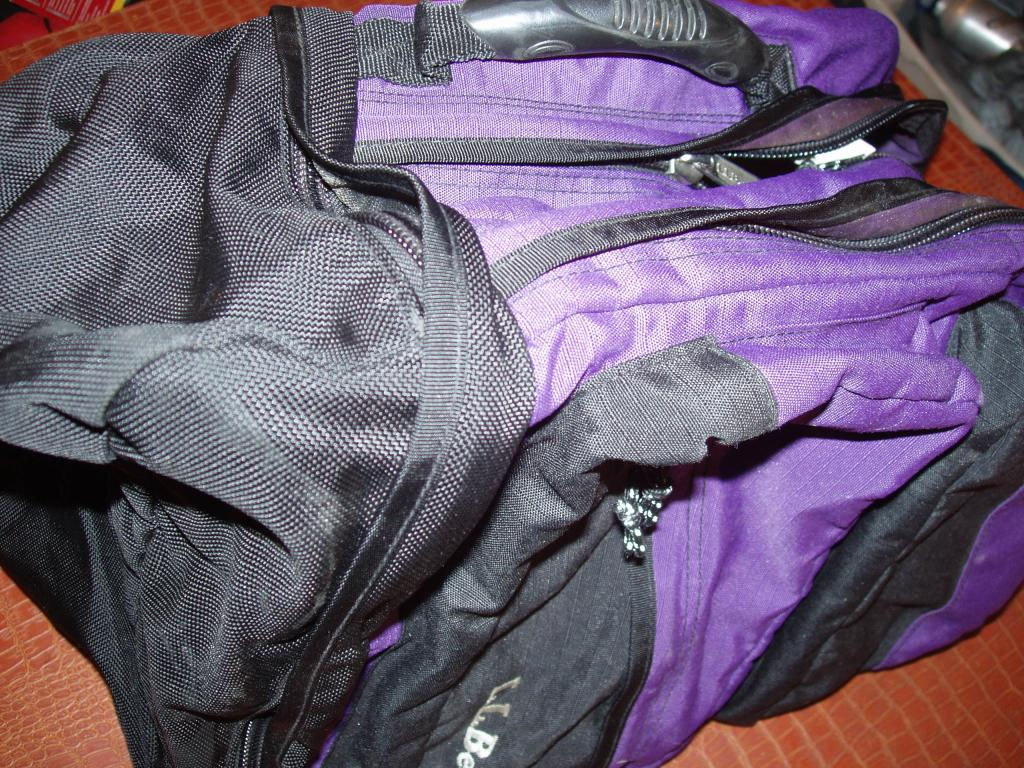 LL BEAN TRAVEL PACK w Handle