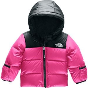 Moondoggy 2.0 Hooded Down Jacket - Infant Girls' Mr. Pink,18M - Excellent